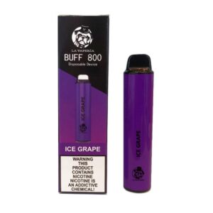 Buff Ice Grape 800 Puff